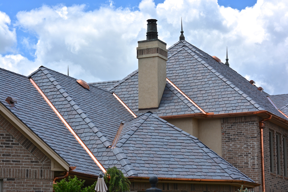DaVinci Impact resistent and wind resistent roofing is great for Oklahoma