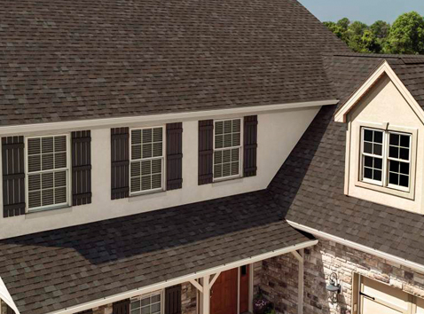 Artisian color shingles from Owens Corning for your Oklahoma City roof