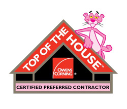 Owens Corning Top of the House Certification
