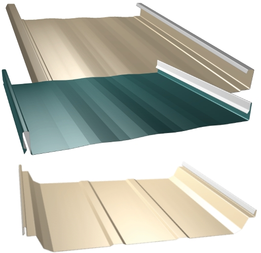 Standing Seam Architectural Metal Roofing Curb Appeal