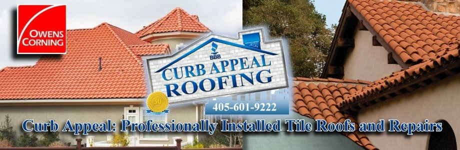 Tile Roofs For Oklahoma Curb Appeal Roofing Construction
